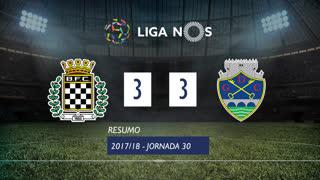 Liga NOS (30ªJ): Resumo Boavista FC 3-3 GD Chaves