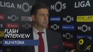 Liga (31ª): Flash interview Rui Vitória