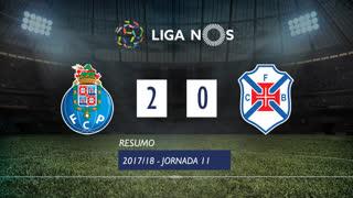 Liga NOS (11ªJ): Resumo FC Porto 2-0 Os Belenenses