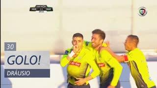 GOLO! Marítimo M., Dráusio aos 30', Moreirense FC 1-1 Marítimo M.