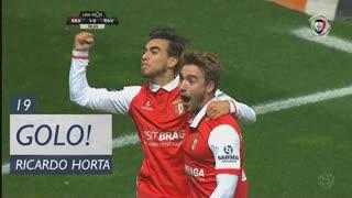 GOLO! SC Braga, Ricardo Horta aos 19', SC Braga 1-0 Rio Ave FC