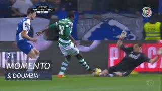 Sporting CP, Jogada, S. Doumbia aos 21'