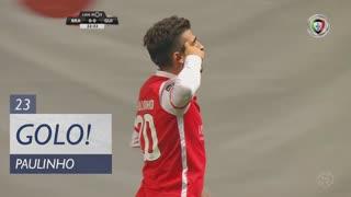 GOLO! SC Braga, Paulinho aos 23', SC Braga 1-0 Vitória SC
