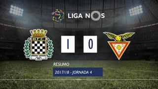 Liga NOS (4ªJ): Resumo Boavista FC 1-0 CD Aves