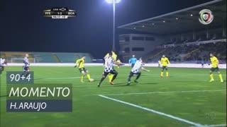 FC P.Ferreira, Jogada, Hendrio Araujo aos 90'+4'