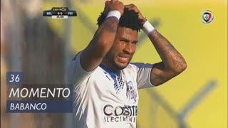 CD Feirense, Jogada, Babanco aos 36'