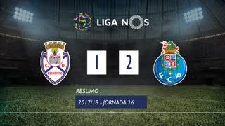 Liga NOS (16ªJ): Resumo CD Feirense 1-2 FC Porto