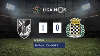 Liga NOS (5ªJ): Resumo Vitória SC 1-0 Boavista FC