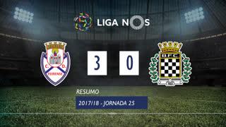 Liga NOS (25ªJ): Resumo CD Feirense 3-0 Boavista FC