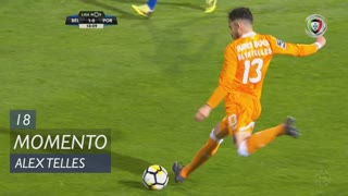 FC Porto, Jogada, Alex Telles aos 18'