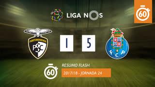 Liga NOS (24ªJ): Resumo Flash Portimonense 1-5 FC Porto