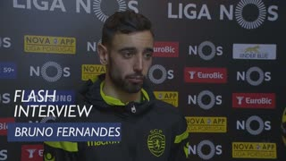 Liga (25ª): Flash interview Bruno Fernandes