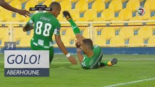GOLO! Moreirense FC, M. Aberhoune aos 34', Estoril Praia 0-1 Moreirense FC