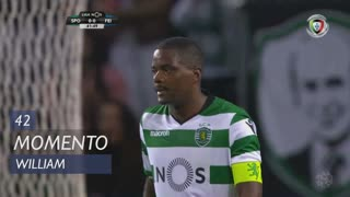 Sporting CP, Jogada, William aos 42'