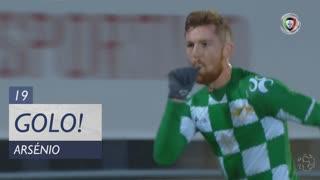GOLO! Moreirense FC, Arsénio aos 19', CD Aves 0-1 Moreirense FC