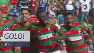 GOLO! Marítimo M., Joel aos 53', Marítimo M. 2-0 CD Feirense