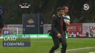 Sporting CP, Caso, Fábio Coentrão aos 89'