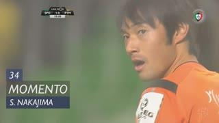Portimonense, Jogada, S. Nakajima aos 34'