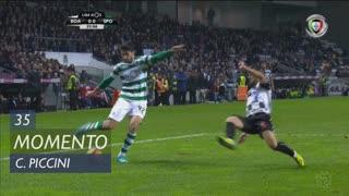 Sporting CP, Jogada, C. Piccini aos 35'