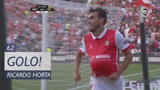 GOLO! SC Braga, Ricardo Horta aos 62', SC Braga 5-0 Estoril Praia