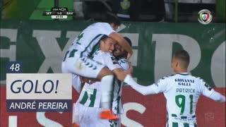 GOLO! Vitória FC, André Pereira aos 48', Vitória FC 1-0 Rio Ave FC