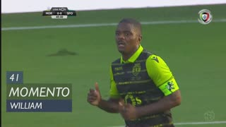 Sporting CP, Jogada, William aos 41'