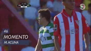 Sporting CP, Jogada, M. Acuña aos 46'