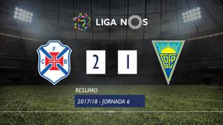 Liga NOS (6ªJ): Resumo Belenenses 2-1 Estoril Praia