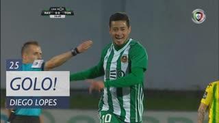 GOLO! Rio Ave FC, Diego Lopes aos 25', Rio Ave FC 1-0 CD Tondela