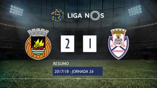 Liga NOS (26ªJ): Resumo Rio Ave FC 2-1 CD Feirense