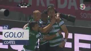 Sporting CP, S. Coates aos 62', CD Feirense 0-1 Sporting CP