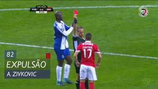 SL Benfica, Expulsão, A. Zivkovic aos 82'