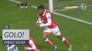 GOLO! SC Braga, Dyego Sousa aos 72', SC Braga 1-1 Boavista FC