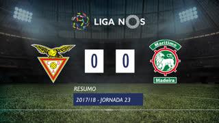 Liga NOS (23ªJ): Resumo CD Aves 0-0 Marítimo M.
