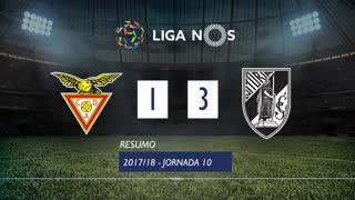 Liga NOS (10ªJ): Resumo CD Aves 1-3 Vitória SC