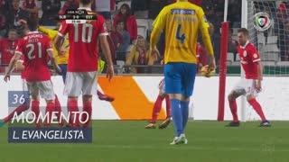 Estoril Praia, Jogada, Lucas Evangelista aos 36'