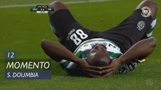 Sporting CP, Jogada, S. Doumbia aos 12'