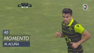 Sporting CP, Jogada, M. Acuña aos 40'
