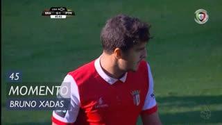 SC Braga, Jogada, Bruno Xadas aos 45'