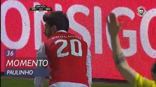 SC Braga, Jogada, Paulinho aos 36'
