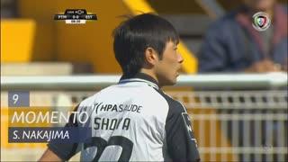 Portimonense, Jogada, S. Nakajima aos 9'