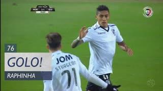 GOLO! Vitória SC, Raphinha aos 76', Moreirense FC 2-1 Vitória SC