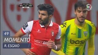 SC Braga, Jogada, Ricardo Esgaio aos 49'