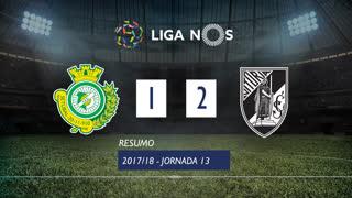 Liga NOS (13ªJ): Resumo Vitória FC 1-2 Vitória SC