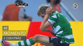 Sporting CP, Jogada, Fábio Coentrão aos 40'