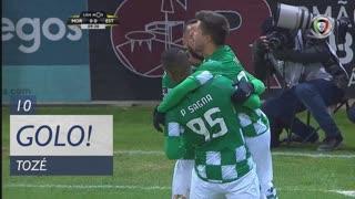 GOLO! Moreirense FC, Tozé aos 10', Moreirense FC 1-0 Estoril Praia