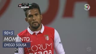 SC Braga, Jogada, Dyego Sousa aos 90'+5'