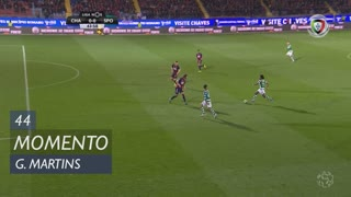 Sporting CP, Jogada, Gelson Martins aos 44'