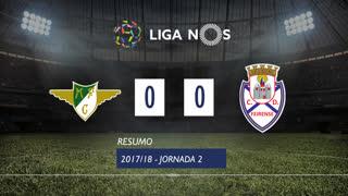 Liga NOS (2ªJ): Resumo Moreirense FC 0-0 CD Feirense