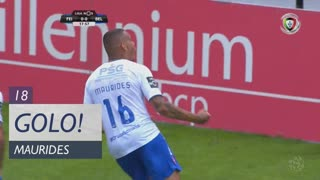 GOLO! Belenenses SAD, Maurides aos 18', CD Feirense 0-1 Belenenses SAD